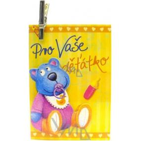 Nekupto Dárková kartička Pro Vaše děťátko 7 x 5,5 cm 1 kus
