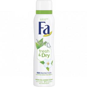 Fa Fresh & Dry Green Tea antiperspitant deodorant sprej pro ženy 150 ml