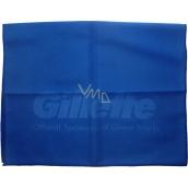 DÁREK Gillette Microfiber Towel ručník tmavě modrý 55 x 35 cm 1 kus