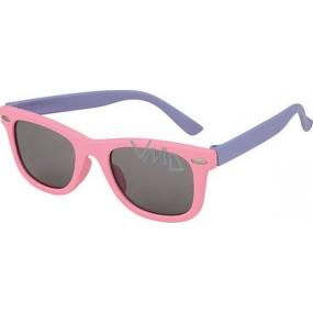Dudes & Dudettes JK321 fialové sluneční brýle pro děti