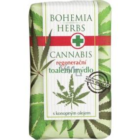 Bohemia Herbs Cannabis Konopný olej regenerační toaletní mýdlo 100 g