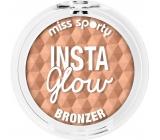 Miss Sporty Insta Glow Bronzer pudr 001 Sunkissed Blonde 5 g