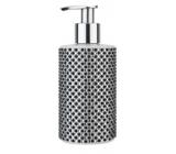 Vivian Gray Diamond Black & White luxusní tekuté mýdlo s dávkovačem 250 ml