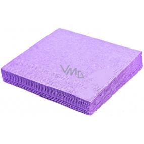 Gastro Papírové ubrousky barevné světle fialové 2 vrstvé 33 x 33 cm 50 kusů