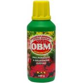 OBM Organicko-minerální výživa rostlin koncentrát pro pokojové a balkonové rostliny 300 g