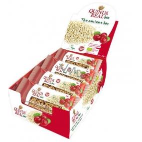Quinua Real Bio Quinoa tyčinka s brusinkami 25 g