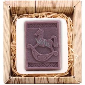 Bohemia Gifts & Cosmetics Koník ručně vyráběné toaletní mýdlo v krabičce 85 g