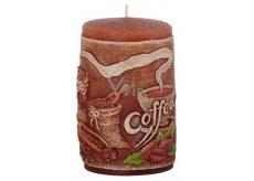 Candles Káva vonná svíčka válec 60 x 100 mm