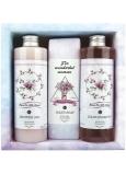 Bohemia Gifts Boho Style & Gentleman Růže a Šípek Sprchový gel 250 ml + Toaletní mýdlo 145g + Šampon na vlasy 250 ml kosmetická sada