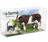 Albi Kouzelné čtení rozšíření hry Na farmě 2 sada zvířátek kráva a kočka