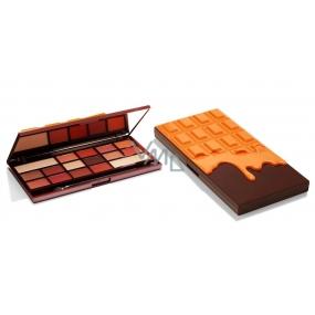 I Heart Revolution Chocolate paletka očních stínů Pomerančová čokoláda 22 g