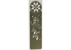 Albi Kovová záložka do knihy Lapač snů 3,3 cm x 12 cm