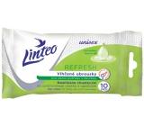 Linteo Refresh pro denní potřebu s okurkou unisex vlhčené ubrousky 10 kusů