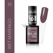 Revers Solar Gel gelový lak na nehty 35 Wet Marengo 12 ml