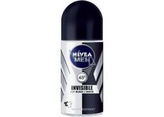Nivea Men Invisible Black & White Power kuličkový antiperspirant deodorant roll-on 50 ml
