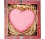 Bohemia Gifts Srdce ručně vyráběné toaletní mýdlo v krabičce 120 g