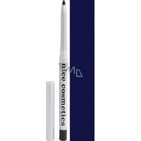 Diva & Nice Vysouvací konturovací tužka na oči s ořezávátkem 06 Tmavě modrá 1,2 g