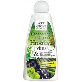 Bione Cosmetics Hroznové víno regenerační kondicionér 260 ml