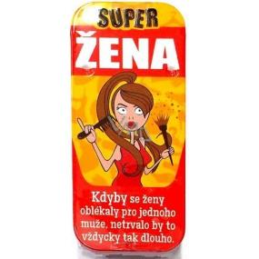 Nekupto Super mentolky 003 Super žena 15 g