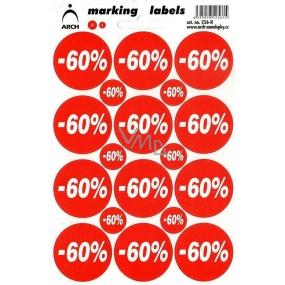 Arch Slevové etikety -60% 256-R
