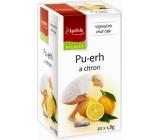 Apotheke Pu-erh a citron čaj napomáhá v boji s nadváhou 20 x 1,8 g