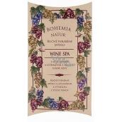 Bohemia Gifts & Cosmetics Wine Spa Vinná kosmetika s glycerinem a extrakty z hroznů vinné révy ručně vyrobené toaletní mýdlo v papírové krabičce 100 g