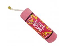 Bomb Cosmetics Milujeme Bomb - Love Bomb Šumivý balistik do koupele 160 g