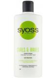 Syoss Curls & Waves kondicionér pro husté, hrubé nebo kudrnaté vlasy 440 ml