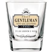 Nekupto Liga Pravých Gentlemanů Whisky sklenička Pravý Gentleman není jen legendou, ty jsi jedním z nich 200 ml