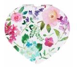 Albi Original Zrcátko srdce Hortenzie 7 cm