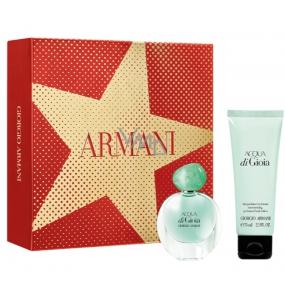 Giorgio Armani Acqua di Gioia parfémovaná voda pro ženy 30 ml + tělové mléko 75 ml, dárková sada