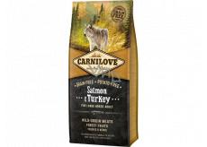 Carnilové Adult Salmon & Turkey superprémiové kompletní krmivo pro dospělé psy všech plemen 12 kg