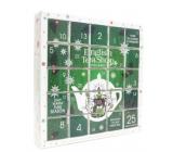 English Tea Shop Bio Adventní kalendář Puzzle zelený 25 kusů čaje, 13 příchutí, 48 g, dárková sada