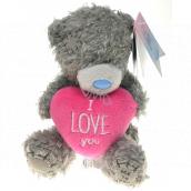 Me To You Medvídek s růžovým srdcem I love you 12 cm