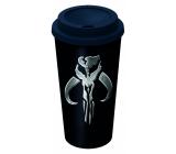 Epee Merch Star Wars - Mandalorian hrnek na kávu plastový 520 ml