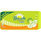 Naturella Classic Normal hygienické vložky s heřmánkem 20 kusů