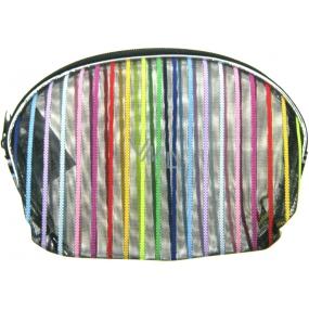 Etue Průhledná - barevný proužek 11 x 8,5 x 1,5 cm 70150 1 kus