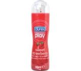Durex Play Sweet Strawberry lubrikační gel s dávkovačem 50 ml