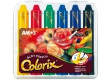 Amos Colorix krajony, rozmývatelné barvy, 6 kusů v pouzdře