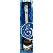Nekupto Twister Lžička se jménem Jiří modrá 16 cm 1 kus