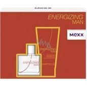 Mexx Energizing Man toaletní voda 30 ml + sprchový gel 50 ml, dárková sada