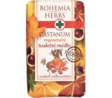 Bohemia Gifts & Cosmetics Castanum Extrakt z kaštanu koňského regenerační toaletní mýdlo 100 g