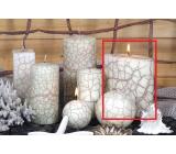 Lima Nevada svíčka slonová kost elipsa 110 x 125 mm 1 kus