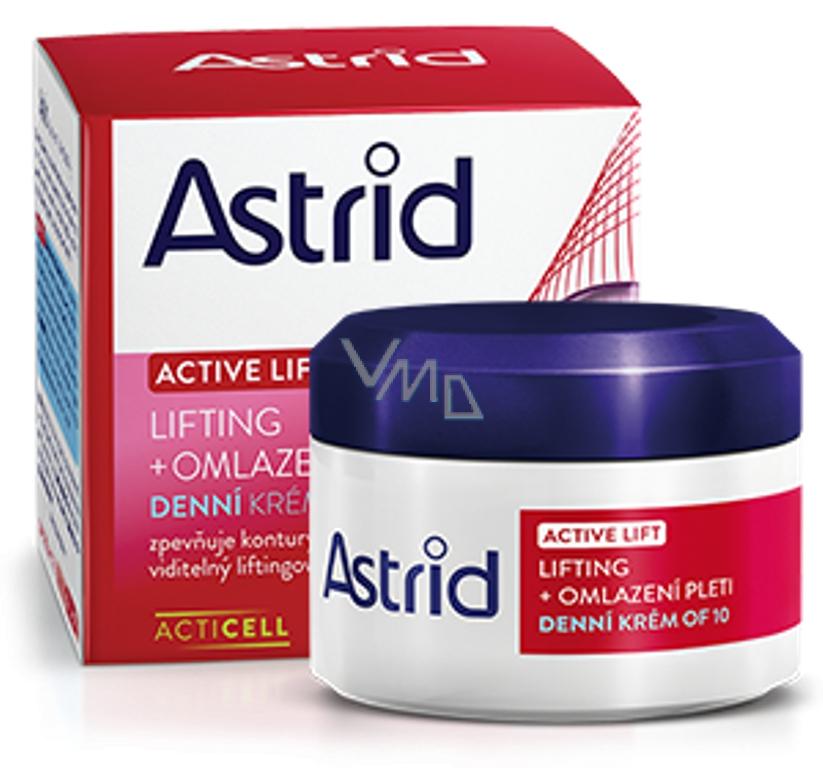 Astrid Active Lift Liftingový OF10 omlazující denní krém 50 ml