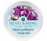Heart & Home Něžné pohlazení Sojový přírodní vonný vosk 27 g