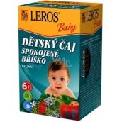 Leros Baby Spokojené bříško bylinný čaj pro děti 20 x 2 g