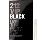 Carolina Herrera 212 VIP Men Black parfémovaná voda s rozprašovačem 1,5 ml, Vialka