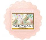 Yankee Candle Rainbow Cookie - Duhové makronky vonný vosk do aromalampy 22 g