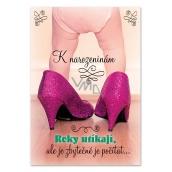 Ditipo Hrací přání k narozeninám Elán Kočka 224 x 157 mm