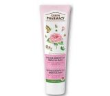 Green Pharmacy 3v1 Růže, Argan, Jojoba vysoce účinný krém na ruce 100 ml